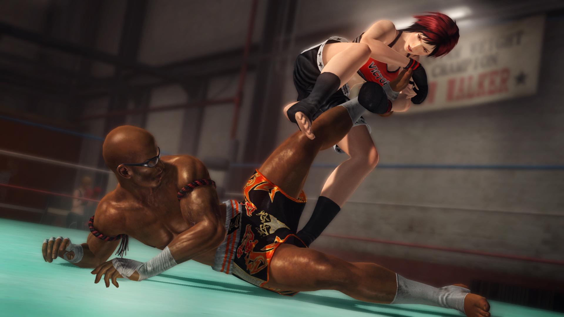 Mila vs Zack in Gym 1