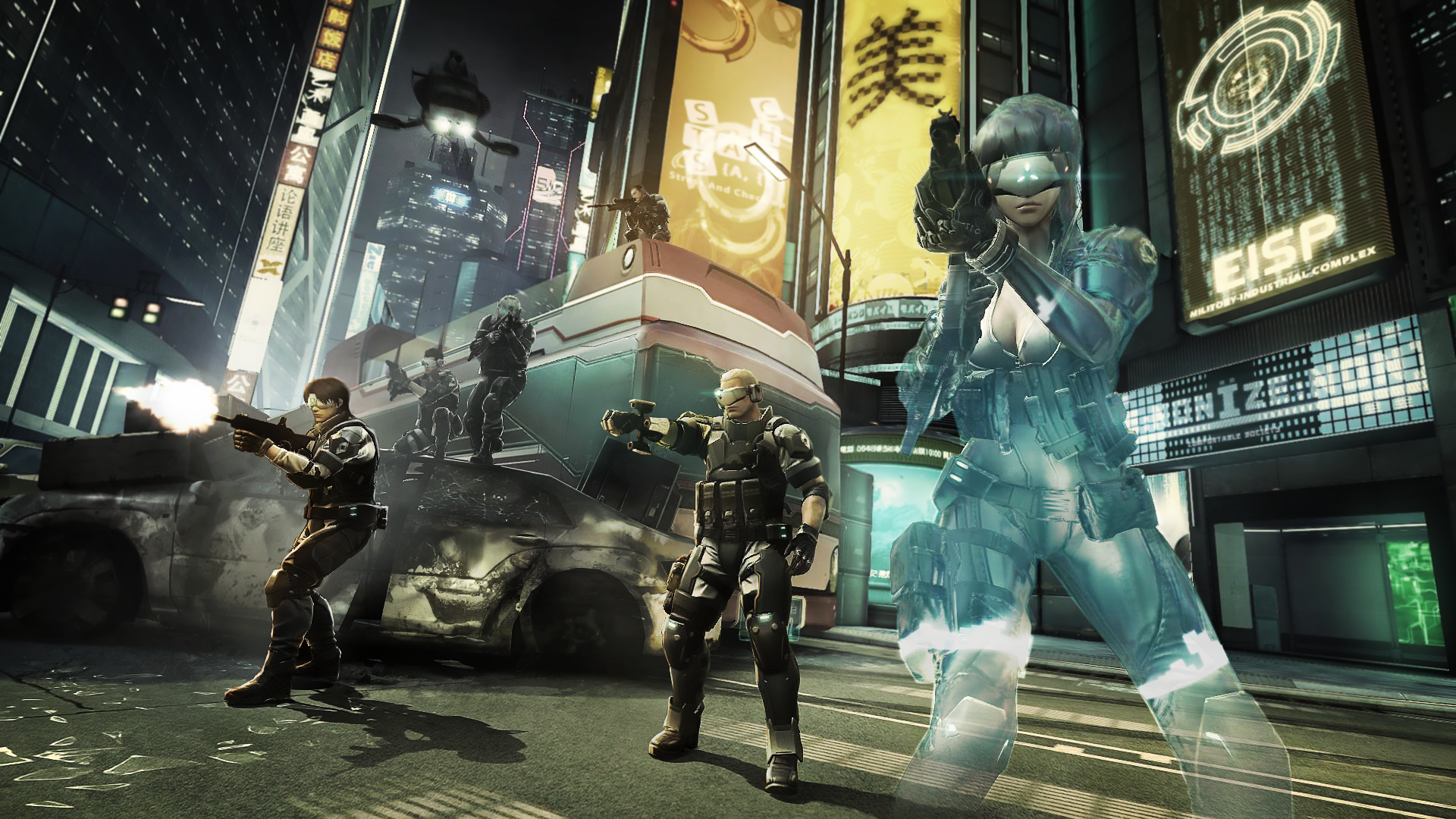 Ghost in the Shell First Assault Screens (6)