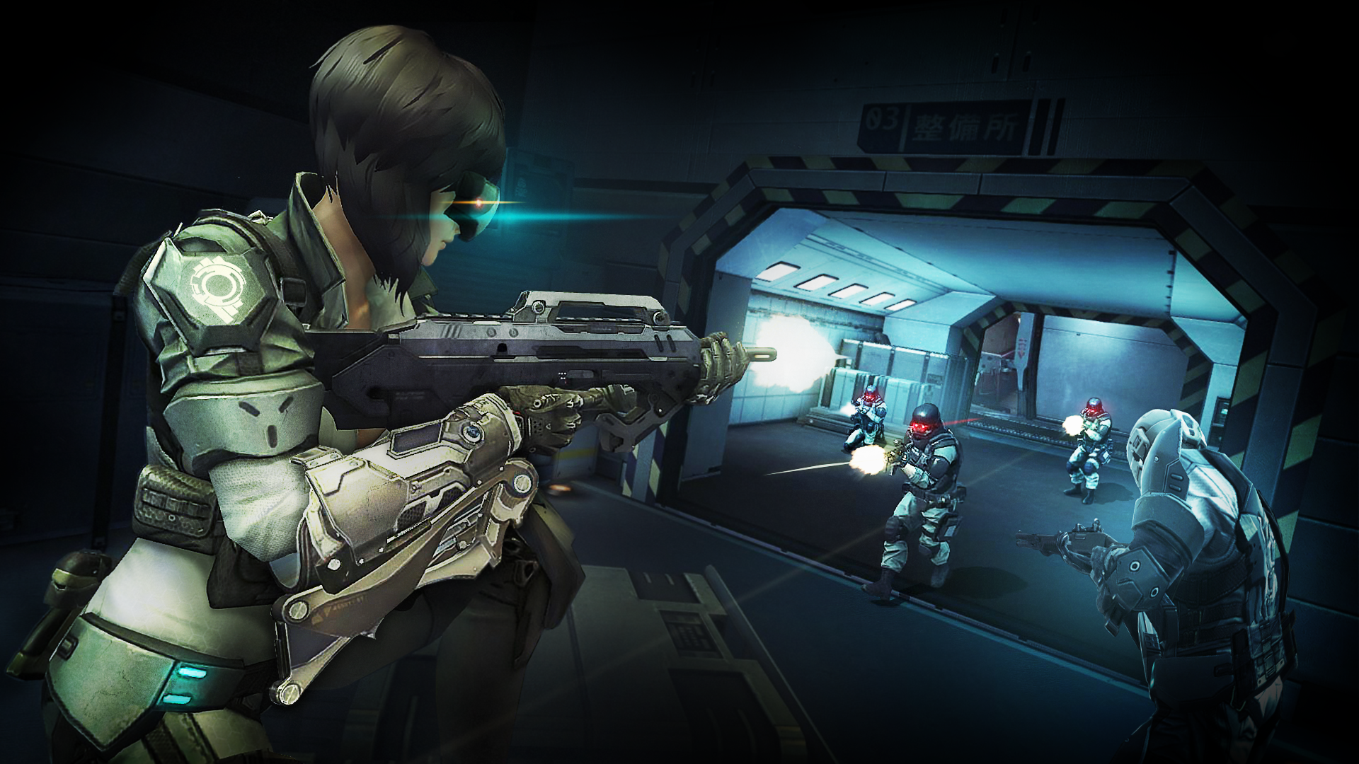 Ghost in the Shell First Assault Screens (7)