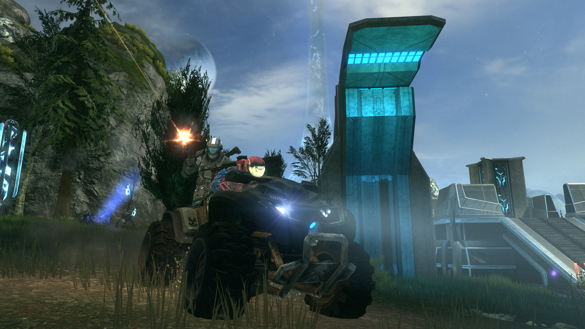 Sggaminginfo halo combat evolved anniversary gets some for Halo ce portent 2 firefight