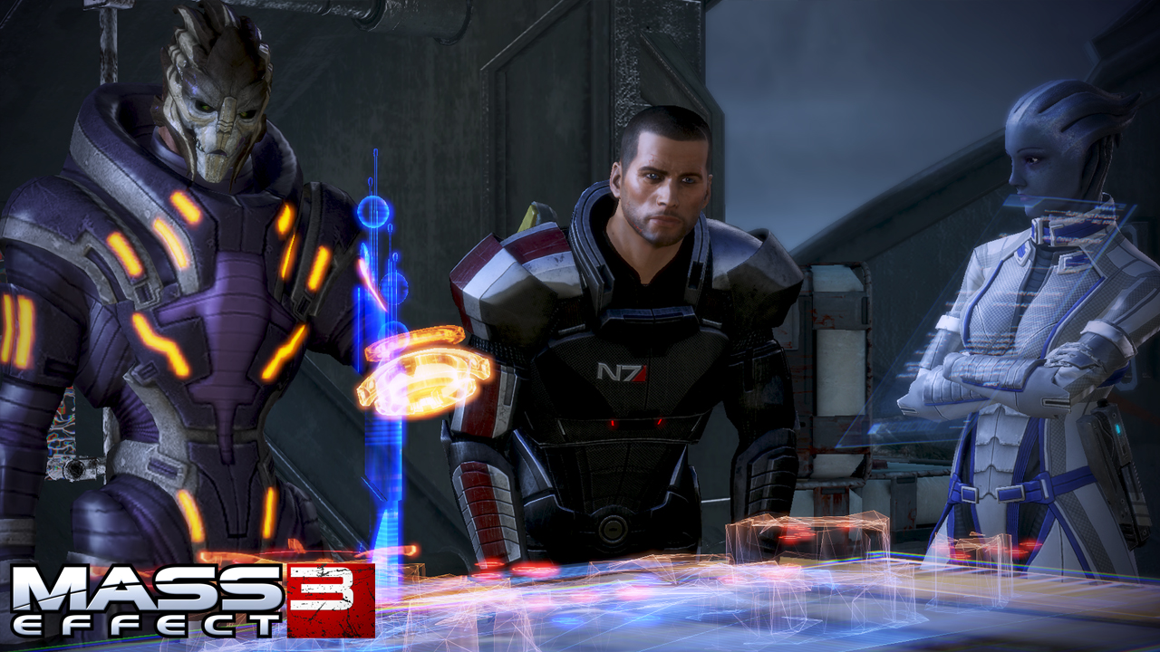 Dating in mass effect 3