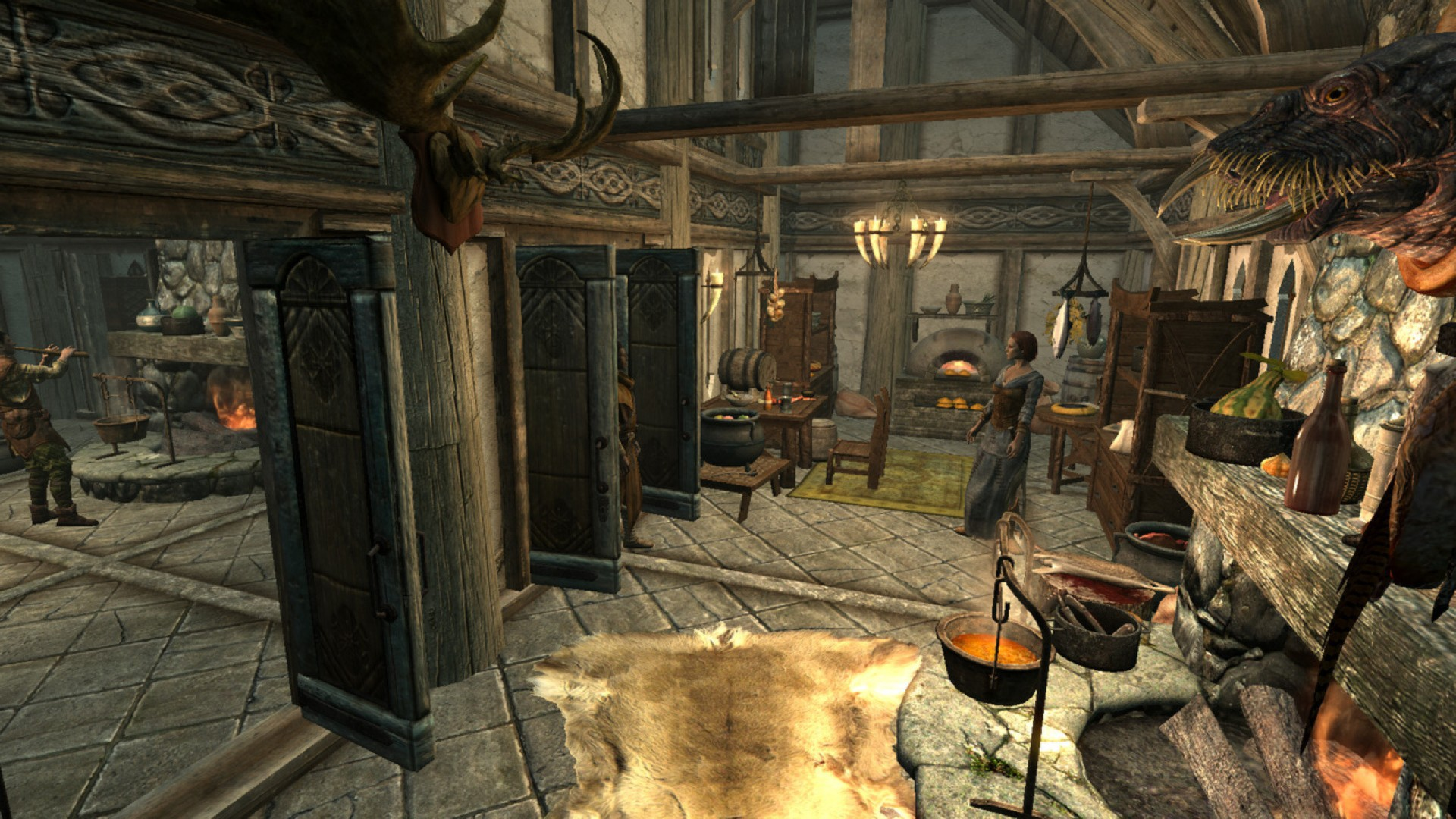 Skyrim Build Your Own Home Furnishings