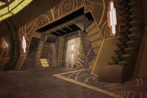 "Possible concept art for ""Ba'al's outpost"""