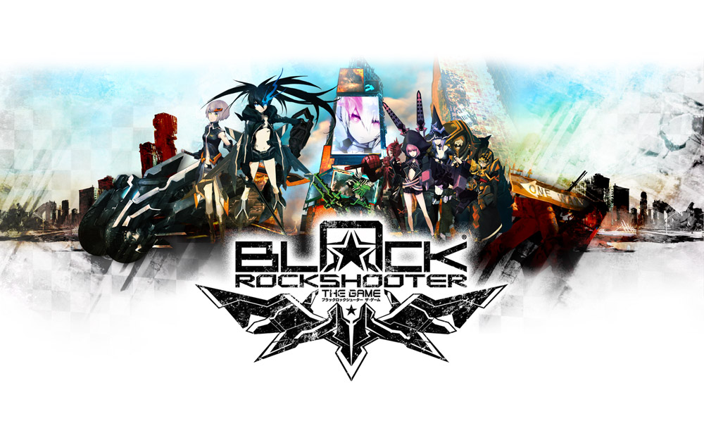 Black Rock Shooter the game_key_art