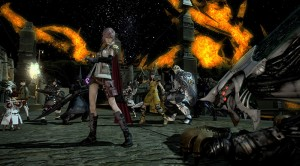 lightning in final fantasy XIV