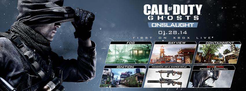 SGGAMINGINFO » First Call of Duty: Ghosts DLC pack to be released on