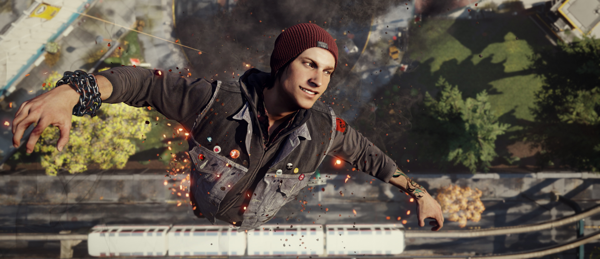 Infamous second son review slides