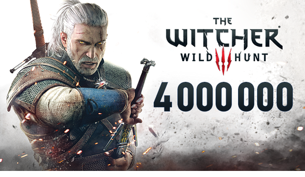 the witcher 3 4 million