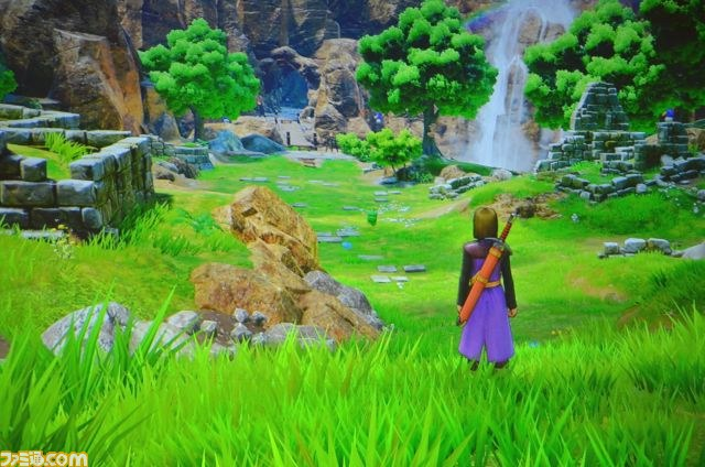 PlayStation 4 version of Dragon Quest XI.