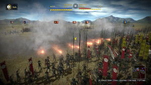 Nobunaga's Ambition Sphere of Influence Skirmish Volley