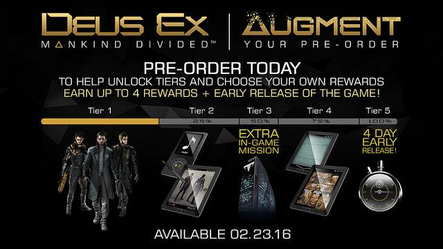 Deus Ex-Mankind Divided_tier rewards