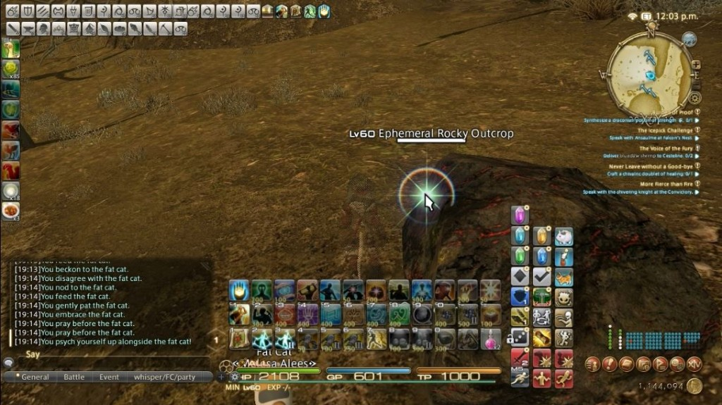 Final Fantasy XIV: Heavensward adds several new gathering and crafting mechanics that act like time sinks rather then skill requirements.