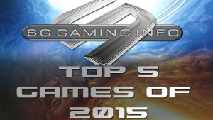Top 5 games of 2015