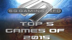 Top 5 games of 2015