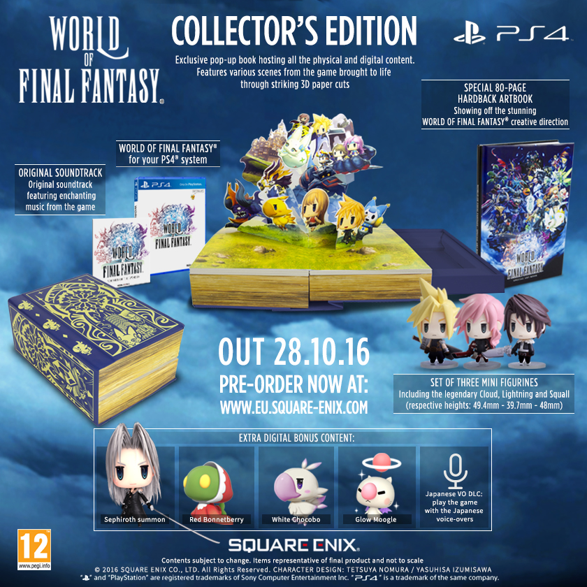 world of final fantasy CE