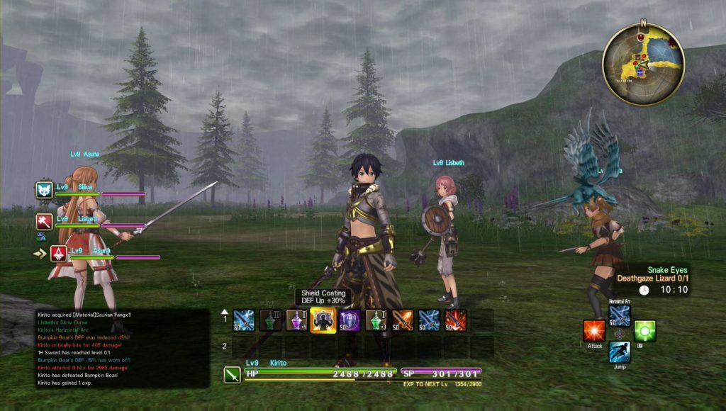 SGGAMINGINFO » First impression – Sword Art Online: Hollow