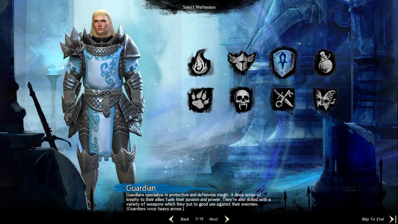 Guild Wars 2 Heavy Armor Gallery