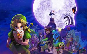 Legend of Zelda Majoras mask 3D